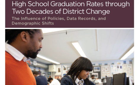 High School Graduation Rates through Two Decades of District Change: The Influence of Policies, Data Records, and Demographic Shifts