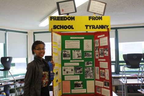 University of Chicago Charter School Students Goes to National History Fair
