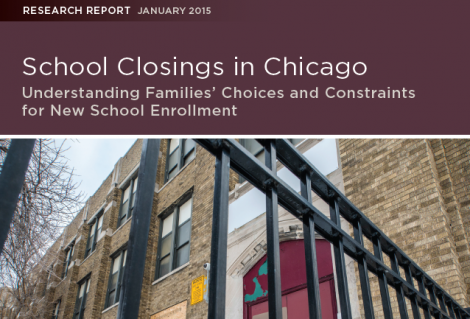 Chicago School Closings Study Report Cover