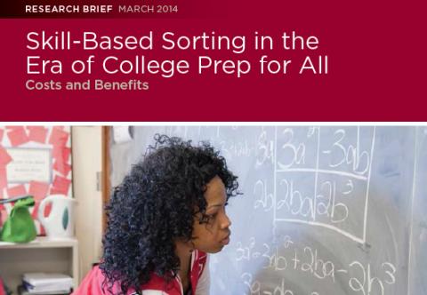 Sorting CCSR Report Cover