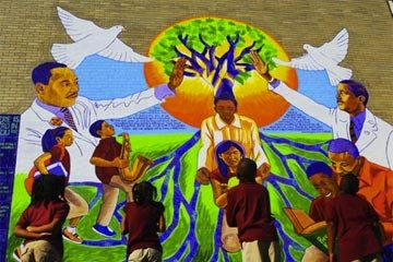 University of Chicago Charter School Mural