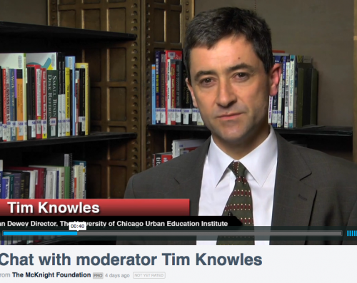 Tim Knowles - McKnight Early Literacy Interview